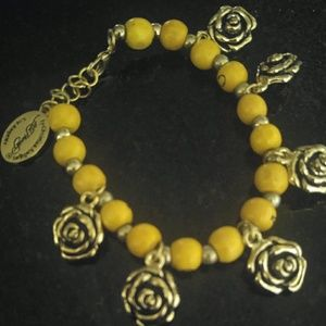 Jewelry - Ed Hardy  Eternal love flower bracelet